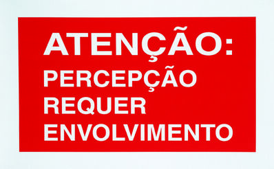Antoni Muntadas, 'On Translation: Atenção', 2002