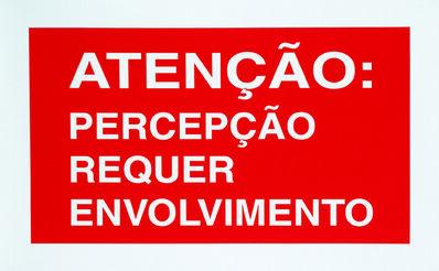 Antoni Muntadas, 'On Translation: Atenção', 2002