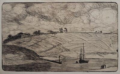 Armand Séguin, 'L'Entrée de la rivière [The Mooring]', 1893