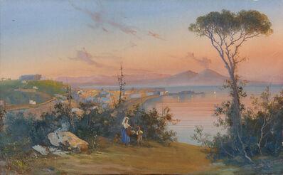 Giuseppe Giusti, 'Bay of Naples'