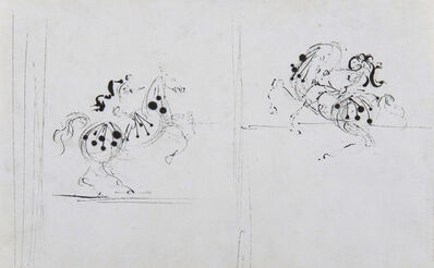 Salvador Dalí, 'Deux cavaliers', ca. 1938