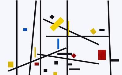 José Manuel Ballester, 'Variaciones a partir de Mondrian 8 ', 2013