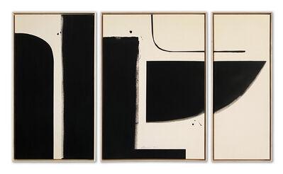 Liza Giles, 'BLACK TRIPTYCH (COMPOSITION III)', 2020