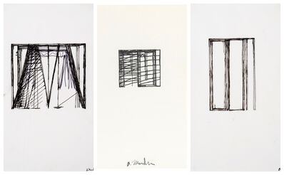 Brice Marden, 'Untitled (Suicide Notes - 3 works)', 1972