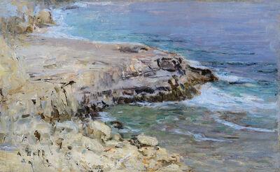 Alfred Zoff, 'Rocky Coastline', 1900
