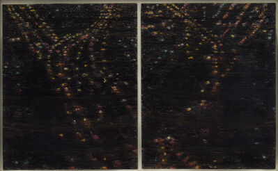 Yvonne Jacquette, 'Queens Lights at Night', 1980