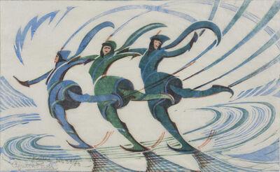 Cyril Edward Power, 'Skaters', 1932