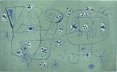 Joan Miró, 'Composition II, from: Series IV ', 1952/53