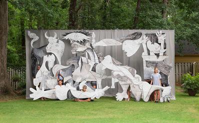 Adad Hannah, 'Backyard Guernica (Georgia) 2', 2017