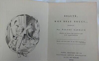 Jean-Emile Laboureur, 'Beauté, Mon Beau Souci', 1920