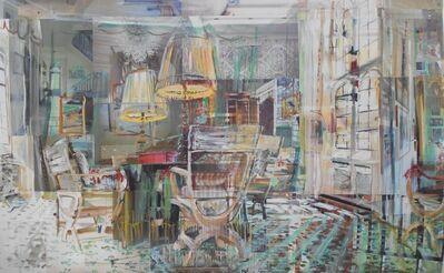 Alison Pullen, 'Leeds Castle, Green Reception Room', 2020