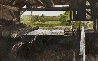 Andrew Wyeth, 'The Tide Mill', 1968