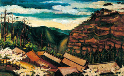Chen Cheng-Po 陳澄波, 'Spring of Ali Mountain', 1935