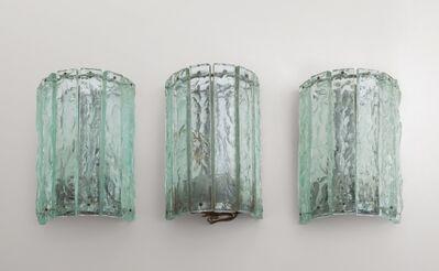 Max Ingrand, 'A set of three wall lamps  '2458' model', Circa 1967