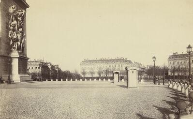 Charles Marville, 'Place de l'Arc de Triomphe / Place de l'Etoile, Paris', 1877