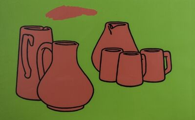Patrick Caulfield, 'Earthenware (Cristea 4)', 1967