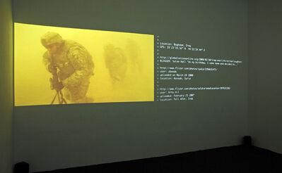 Thomson & Craighead, 'A Short Film About War', 2009-2010