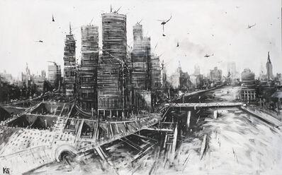 Konstantin Batynkov, 'Moscow City', 2017