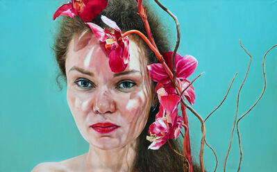 Arina Gordienko, 'Orchid (Portrait of Viktoria)', 2020