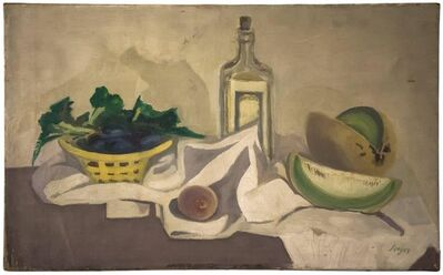 Frederick B. Serger, 'Still Life with Melons', 1940-1949