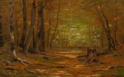 Leonard Ochtman, 'Autumn Interior', 1900