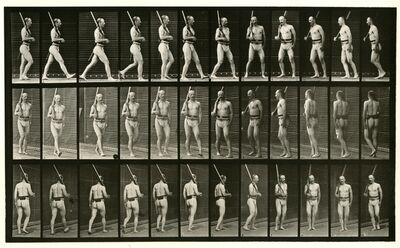 Eadweard Muybridge, 'Animal Locomotion #355', 1887