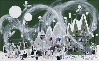 Nathan Carter, 'A vicious outbreak of super-cyclonic polar weather caused blizzard conditions and prompted and emergency white-out advisory', 2013