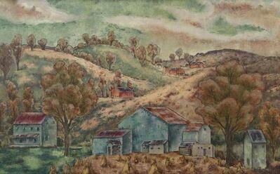 George Biddle, 'Pennsylvania Landscape', 1947