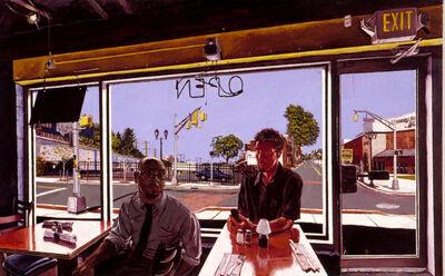 Mel Leipzig, 'Urban Word by Day', 2001