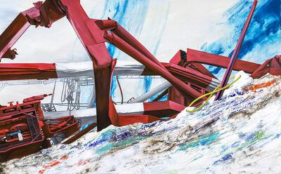 Chou Tai-Chun, 'Beyond the Mountains – 30 Degree Wave', 2017
