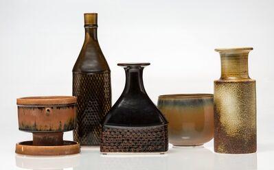 Stig Lindberg, 'Five Vases', circa 1960