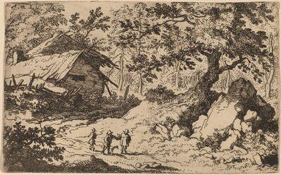 Allart van Everdingen, 'Ruinous Cottage', probably c. 1645/1656