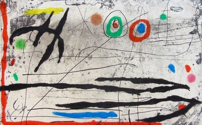 Joan Miró, 'Mark on the Wall I |Trace Sur La Paroi I', 1967