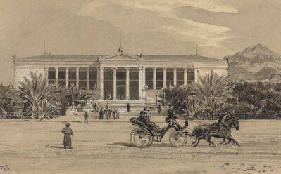 Themistocles von Eckenbrecher, 'University', 1890