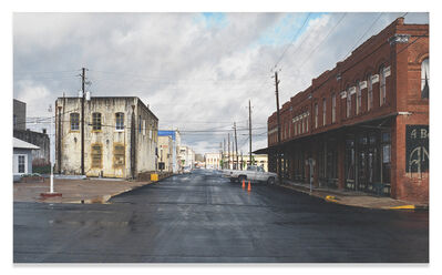 Rod Penner, 'Yellow Light / Brenham, TX', 2005