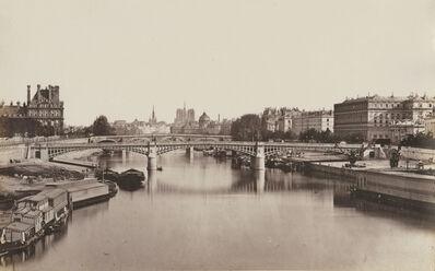 Édouard Baldus, 'View of Paris on the Seine', 1850s/1860c