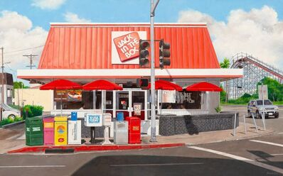 John Baeder, 'Jack in the Box, Mission Hills, California', 2007