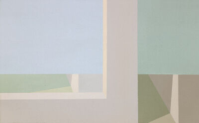 Helen Lundeberg, 'Double View', 1973
