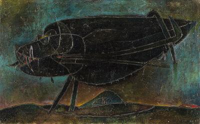 Gianni Dova, 'Bestiola nera', 1957