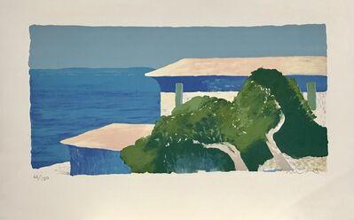 Roger Muhl, 'Maisons et pins', ca. 1998