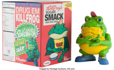 Ron English, 'Drug'em Killfrog, from Cereal Killers Series', 2014