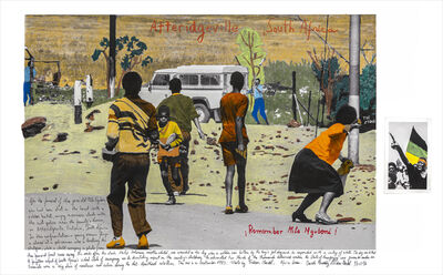Marcelo Brodsky, 'ATTERIDGEVILLE, SOUTH AFRICA, 1985 (collaboration with Gideon Mendel)', 2018