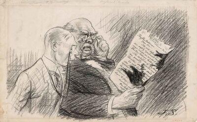 John Sloan, 'Damaged Mail', 1913