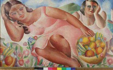 Emiliano Di Cavalcanti, 'Mulheres com frutas', 1932