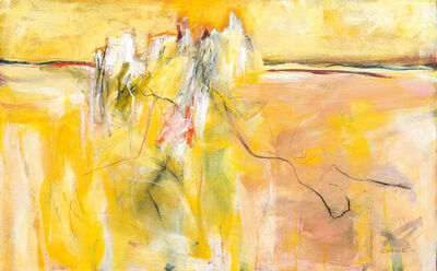 Fred Schimmel, 'Abstract in Yellow'