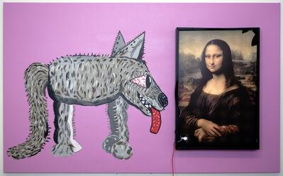 Michael Pybus, 'Cracked Mona ', 2020
