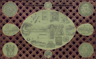 Adriana Bustos, 'Imago Mundi I. Mapa turístico', 2014