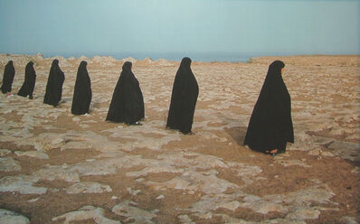 Shirin Neshat, 'Rapture series (women in a line)', 1999