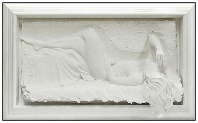 Bill Mack, 'Bill Mack Rhapsody Large Bonded Sand Relief Sculpture Signed Nude Female Artwork', 1993
