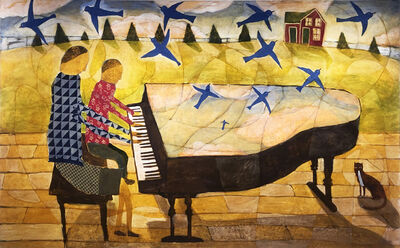 Donald Saaf, 'Piano Lesson', 2020